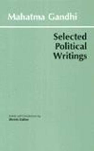 9780872203310: Gandhi: Selected Political Writings (Hackett Classics)