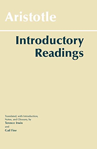 9780872203396: Aristotle: Introductory Readings (Hackett Classics)