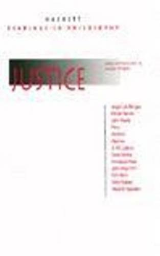 9780872203457: Justice (Hackett Readings in Philosophy)