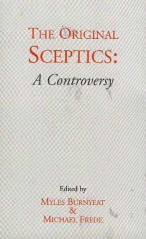 9780872203471: The Original Sceptics: A Controversy