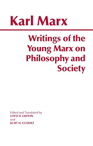 9780872203686: Writings of the Young Marx on Philosophy and Society (Hackett Classics)