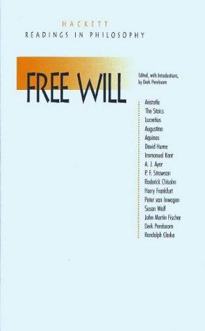 9780872203723: Free Will (Hackett Readings in Philosophy) (Headline)