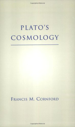 9780872203860: Plato's Cosmology: The Timaeus of Plato