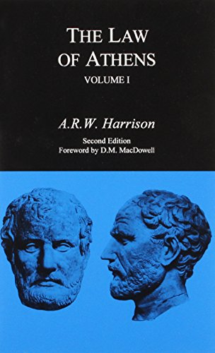 9780872204140: The Law of Athens, 2 Volume Set
