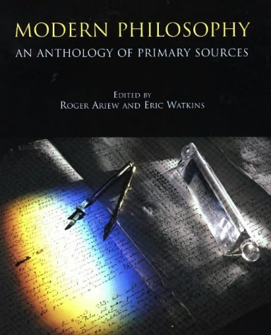 9780872204409: Modern Philosophy: An Anthology of Primary Sources