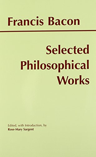 9780872204706: Bacon: Selected Philosophical Works