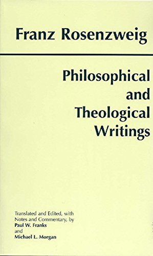 Philosophical and Theological Writings (0872204723) by Franz Rosenzweig; Paul W. Franks; Michael L. Morgan; Franks, Paul W.; Rosenzweig, Franz