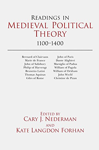 9780872204881: Readings in Medieval Political Theory: 1100-1400 (Hackett Publishing Co.)