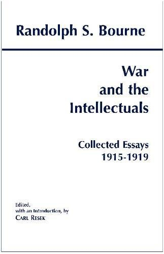 9780872205000: War and the Intellectuals: Collected Essays, 1915-1919