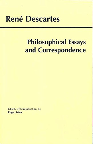 9780872205024: Philosophical Essays and Correspondence (Hackett Classics)