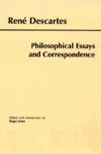 9780872205031: Philosophical Essays and Correspondence