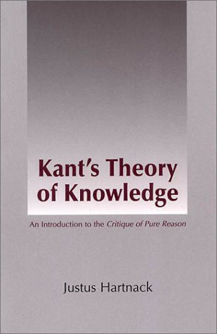 9780872205079: Kant's Theory of Knowledge