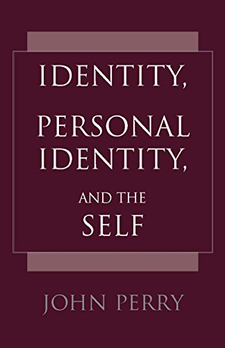 9780872205208: Identity, Personal Identity, and the Self