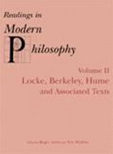 9780872205338: 002: Readings In Modern Philosophy, Volume 2: Locke, Berkeley, Hume and Associated Texts