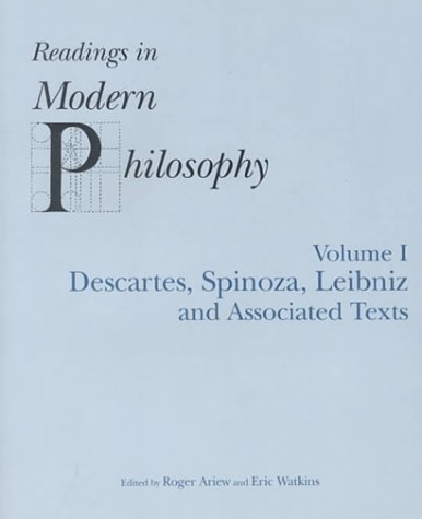 9780872205345: READINGS IN MODERN PHILOSOPHY, VOL. 1: Descartes, Spinoza, Leibniz and Associated Texts