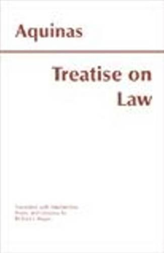 9780872205499: Treatise on Law
