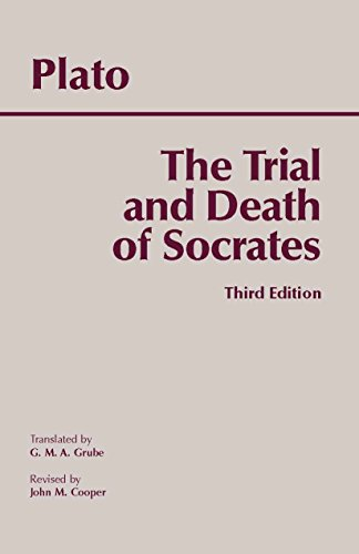 9780872205543: The Trial and Death of Socrates
