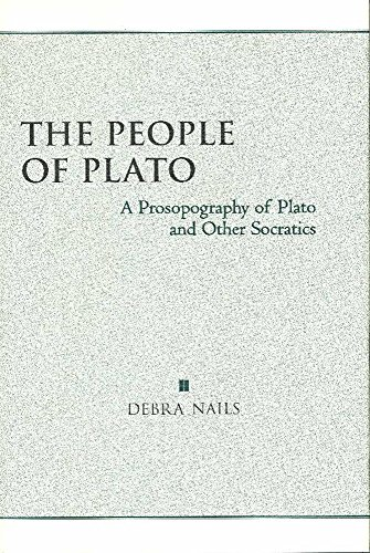 9780872205642: The People of Plato: A Prosopography of Plato and Other Socratics