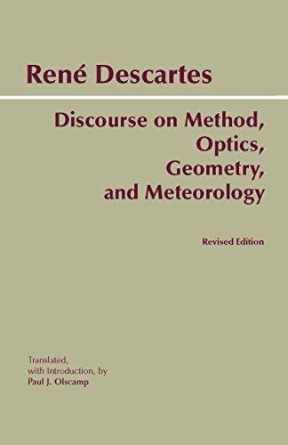 9780872205673: Discourse on Method, Optics, Geometry, and Meteorology