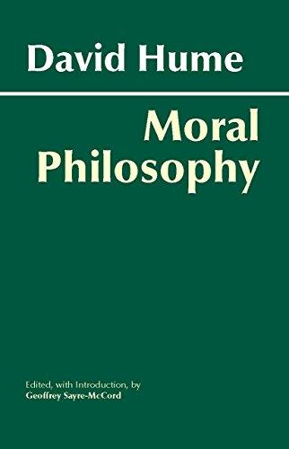 9780872205994: Hume: Moral Philosophy (Hackett Classics)