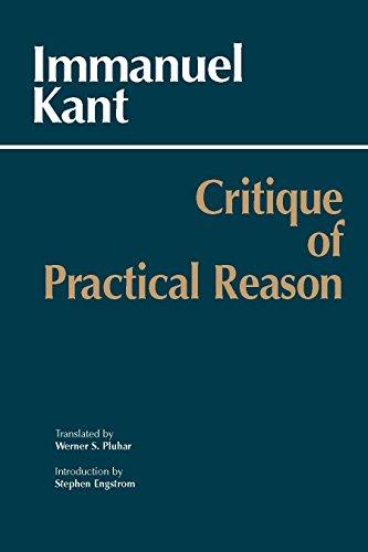 9780872206175: Critique of Practical Reason (Hackett Classics)