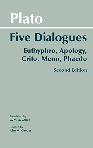 9780872206335: Plato: Five Dialogues: Euthyphro, Apology, Crito, Meno, Phaedo (Hackett Classics)