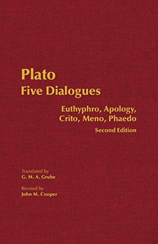 9780872206342: Five Dialogues: Euthyphro, Apology, Crito, Meno, Phaedo