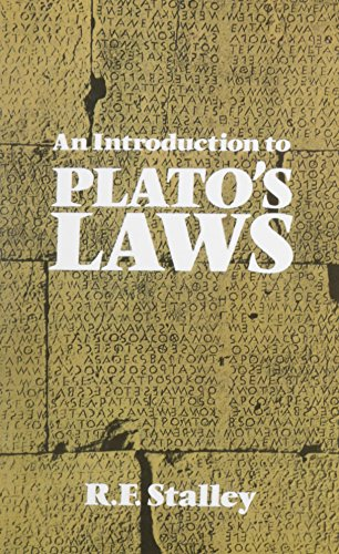 9780872206434: An Introduction to Plato's Laws