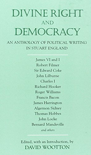 9780872206533: Divine Right and Democracy: An Anthology of Political Writing in Stuart England