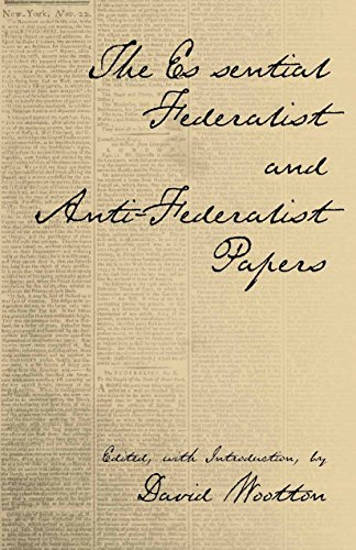 9780872206557: The Essential Federalist and Anti-Federalist Papers (Hackett Classics)