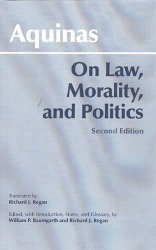 9780872206649: On Law, Morality, and Politics (Hackett Classics)