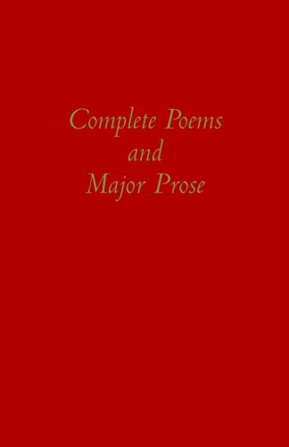 9780872206786: Complete Poems and Major Prose