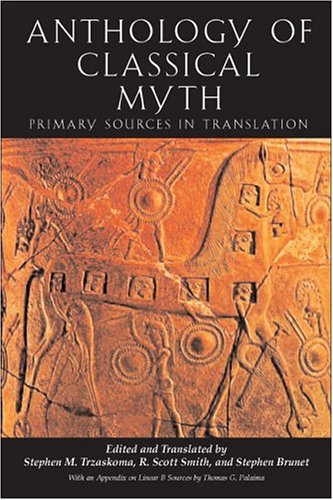 9780872207226: Anthology of Classical Myth: Primary Sources in Translation