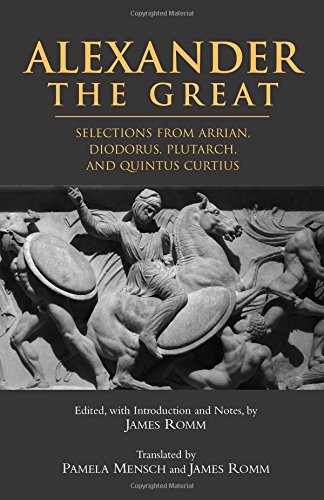 9780872207271: Alexander The Great: Selections From Arrian, Diodorus, Plutarch, And Quintus Curtius