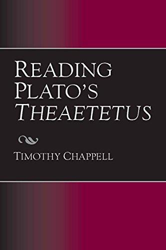 9780872207608: Reading Plato's Theaetetus