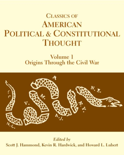 9780872207875: Classics of American Political and Constitutional Thought, 2-Volume Set