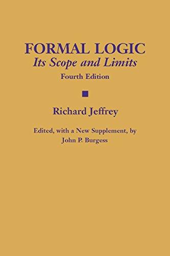 9780872208131: Formal Logic: Its Scope and Limits