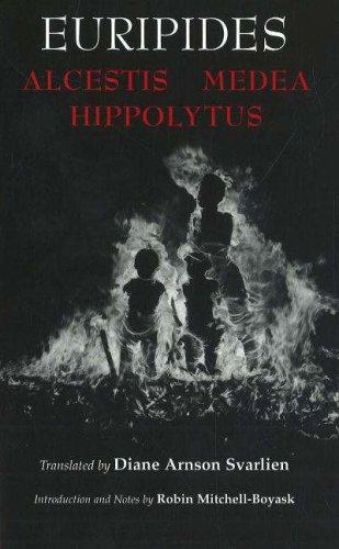 9780872208230: Alcestis, Medea, Hippolytus (Hackett Classics)