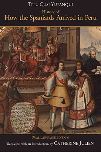 9780872208285 History Of How The Spaniards Arrived In Peru