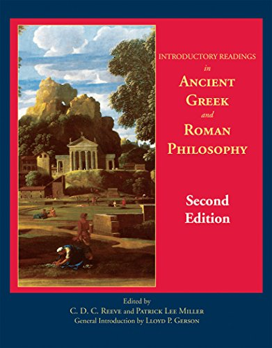9780872208308: Introductory Readings in Ancient Greek and Roman Philosophy