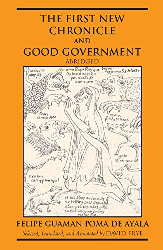 9780872208414: First New Chronicle and Good Government