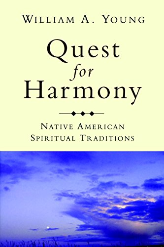 9780872208612: Quest for Harmony: Native American Spiritual Traditions