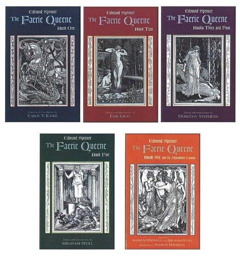 9780872209411: Faerie Queene: Complete in Five Volumes