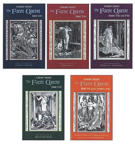 9780872209411: The Faerie Queene: Complete in Five Volumes: Book One; Book Two; Books Three and Four; Book Five; Book Six and the Mutabilitie Cantos