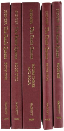9780872209428: The Faerie Queene: Complete in Five Volumes: Book One; Book Two; Books Three and Four; Book Five; Book Six and the Mutabilitie Cantos