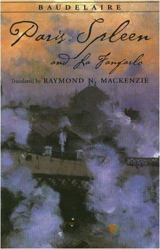 9780872209497: Paris Spleen, and La Fanfarlo (Hackett Classics)