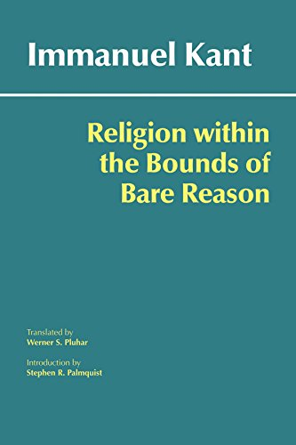 9780872209763: Religion within the Bounds of Bare Reason (Hackett Classics)