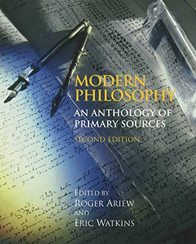 9780872209787: Modern Philosophy: An Anthology of Primary Sources