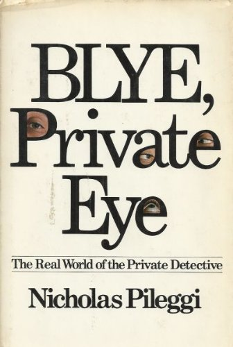 9780872234758: Blye, private eye