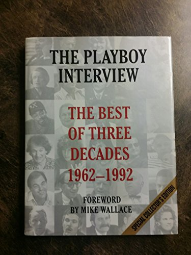 9780872239081: The Playboy Interview: The Best of 3 Decades 1962-1992